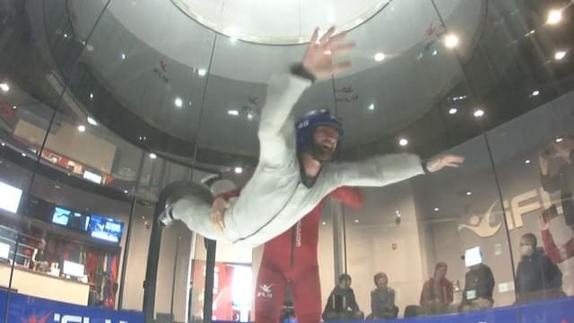 Wappel Flying at IFly