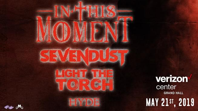 MAY 21 • In This Moment with Sevendust
