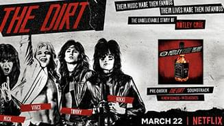 The Dirt Soundtrack Has 4 New Crüe Songs, Madonna Cover