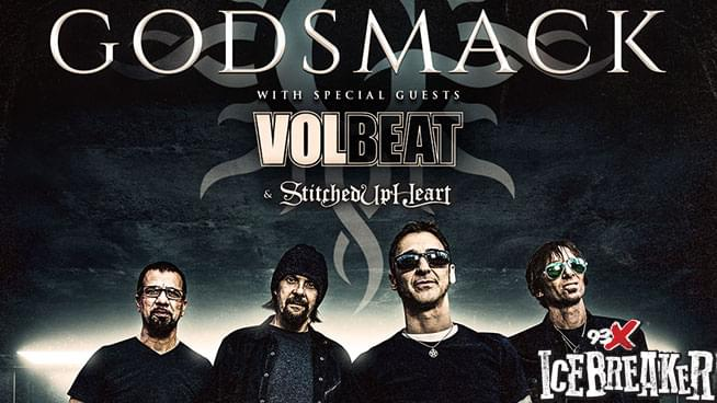 APR 22 • Godsmack & Volbeat Pre-Party
