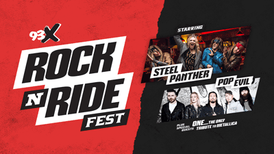 Just Announced: 93X Rock N Ride starring Steel Panther & Pop Evil!