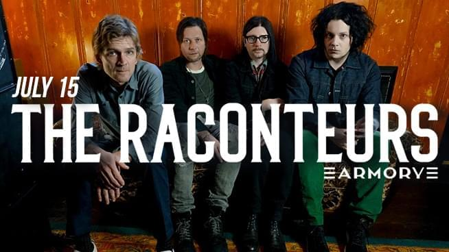 Win The Raconteurs Tickets!