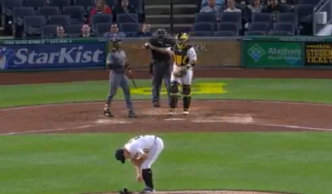 Pirates Pitcher Cries On Mound After Heartbreaking Injury