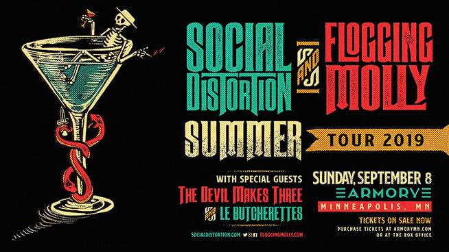 SEP 8 • Social Distortion and Flogging Molly