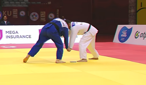 Judo Fighter Disqualified After Phone Slips Out Mid-Match