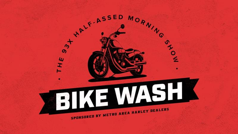 Half-Assed Morning Show Bike Wash!