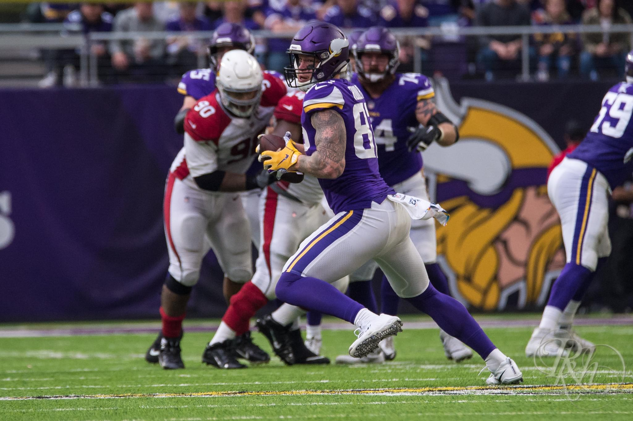 Kyle Rudolph Inks Extension, Thankful for Vikings' Culture