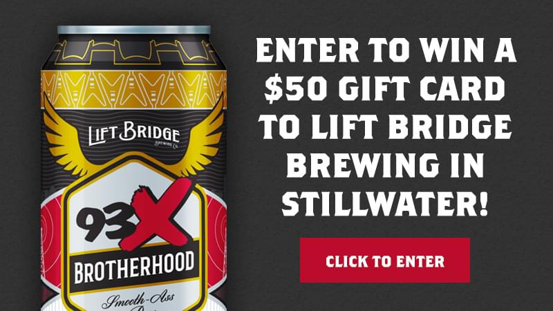 Win a $50 Gift Card to Lift Bridge Brewing!