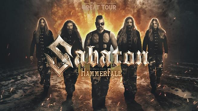 Win Sabaton Tickets!