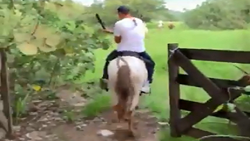 Tom Brady Annonyingly Shares Horseback Riding Video