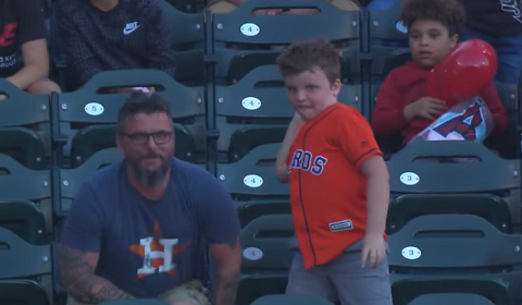 Houston Astros Fan Throws Alex Bregman Dong Back