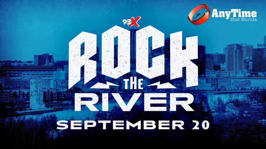 Rock The River with 93X!