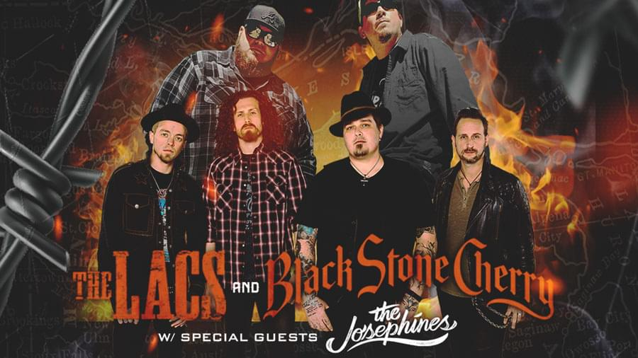 Win Black Stone Cherry Tickets!