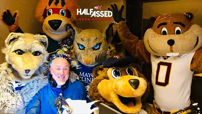 Local Minnesota Mascots Surprise Nick For His Birthday