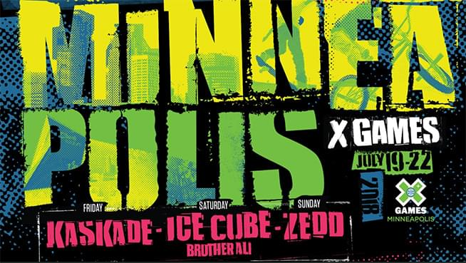 Get Your Tix for X Games Minneapolis!