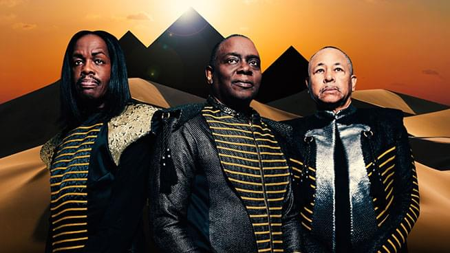 AUG 26 • Earth, Wind & Fire with special guest Sinbad