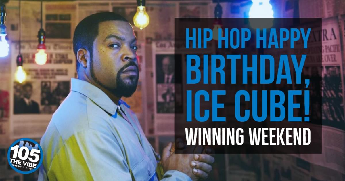 Win tickets to see Ice Cube at the X Games!