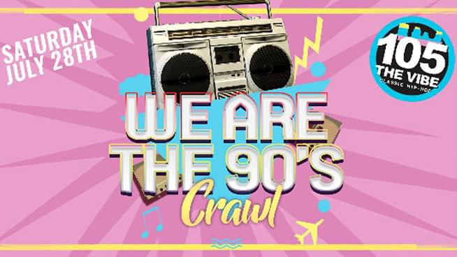 JUL 28 • We Are the 90's Bar Crawl