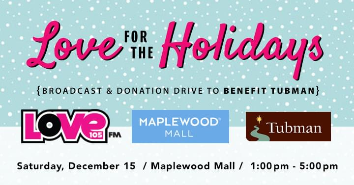 DEC 15 • Donation Drive & Broadcast with Jay Philpott at Maplewood Mall