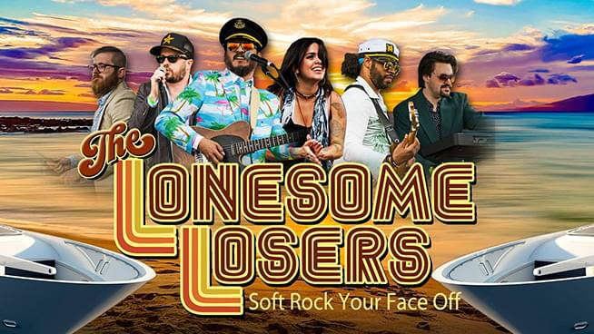 The Lonesome Losers: Tribute to Yacht Rock Video Shoot