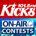 Kicks On-Air Contests