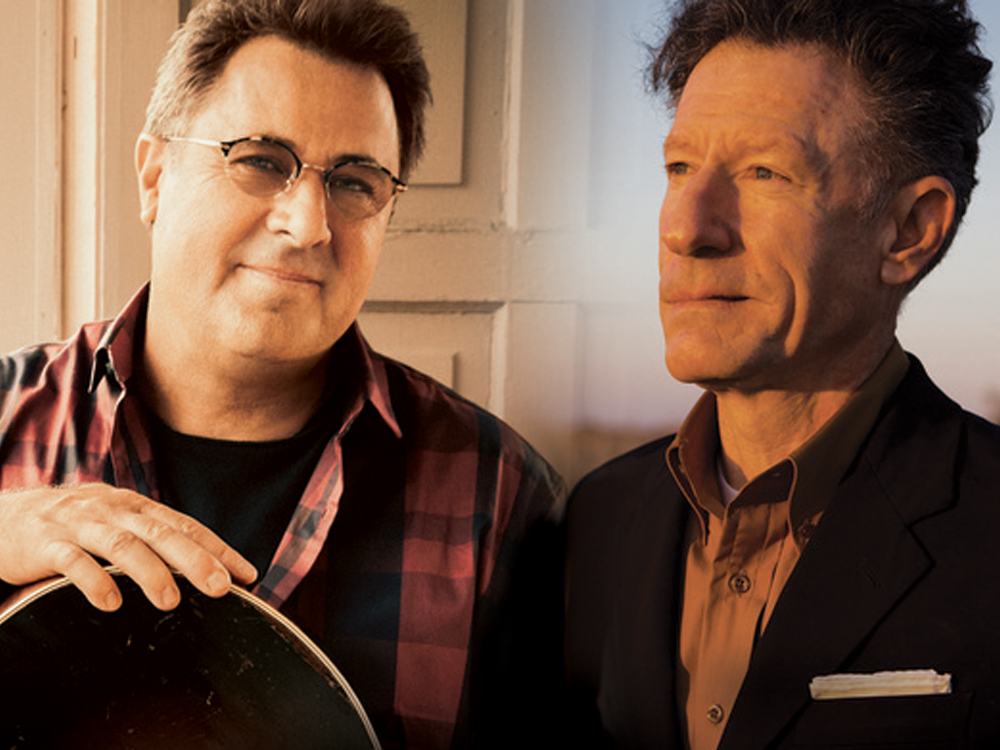 """Vince Gill and Lyle Lovett Team Up for the Third Installment of """"Songs and Stories Tour"""""""