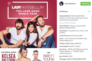 Lady Antebellum Announce Details of a New Song, Album, and World Tour