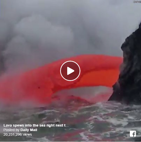 Some Of The Latest Video On Kilauea Is Unbelievable!