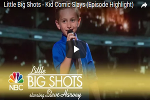 This 8-Year-Old's Stand Up Comedy Is Hilarious!