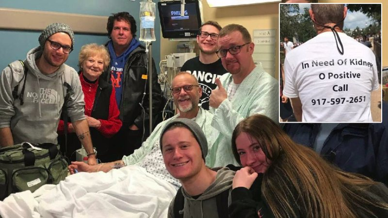 Dad Wears T-Shirt at Disney World to Find a Kidney!