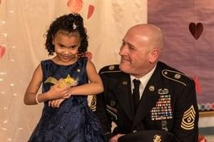 Guardsmen Steps in to take Solider's Daughter to Daddy/Daughter Dance!