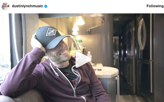 Dustin Lynch Is Dealing With His First Round of Jet Lag EVER