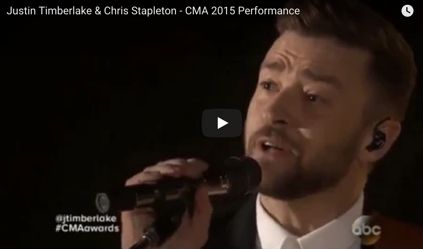 Remember This Amazing Chris Stapleton and JT Performance?
