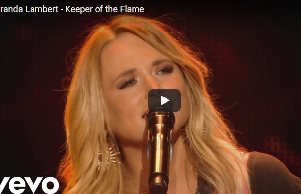 "WATCH: New Music Video for ""Keeper of the Flame"" by Miranda Lambert"