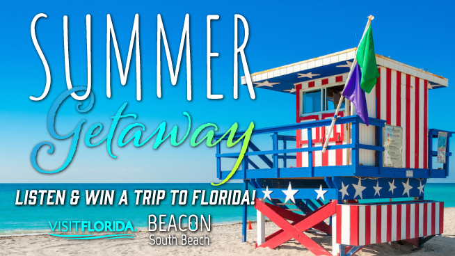 Listen & Win a trip to Beacon South Beach!