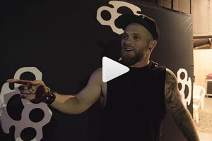 Watch Brantley Gilbert's Guitar Player Prank Him!