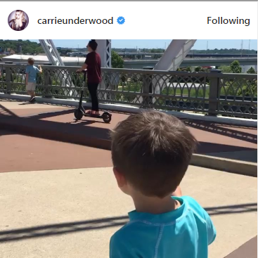Carrie Underwood's Son Welcomes Everyone to Nashville For CMA Fest!