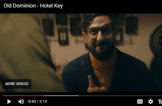 """WATCH: Old Dominion's New Music Video for """"Hotel Key"""""""