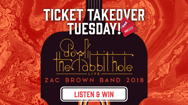 Ticket Takeover Tuesday – Zac Brown Band!