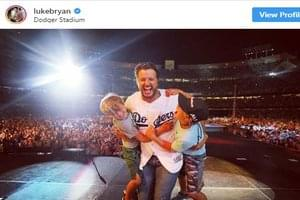Luke Bryan Is The First Country Artist to Play Dodger Stadium