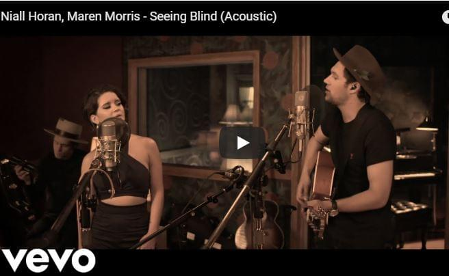 "Check Out The Acoustic Version of Maren Morris & Niall Horan's ""Seeing Blind"""