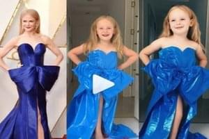 WATCH: 4-Year-Old Dresses Up As Her Favorite Celebrities!