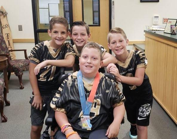 WATCH: Commerce Fifth-Grader with Cerebral Palsy Scores Touchdown