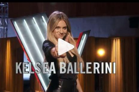 """Kelsea Ballerini Gets A Chair On """"The Voice""""!"""