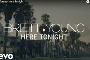 "WATCH: Brett Young's New Music Video for ""Here Tonight"""