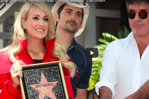 WATCH: Carrie Underwood Gets Her Star on the Hollywood Walk of Fame!