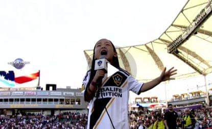 WATCH: 7-Year-Old Malea Nails the National Anthem!