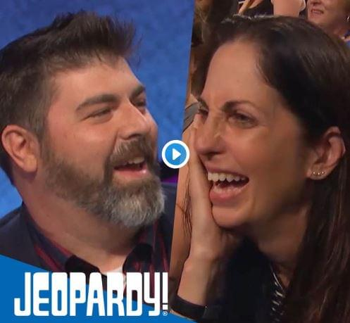WATCH: A Guy Proposes On 'Jeopardy'!