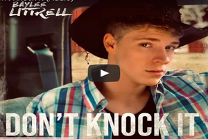 "LISTEN: Baylee Littrell Put Out A Country Song – ""Don't Knock It"""