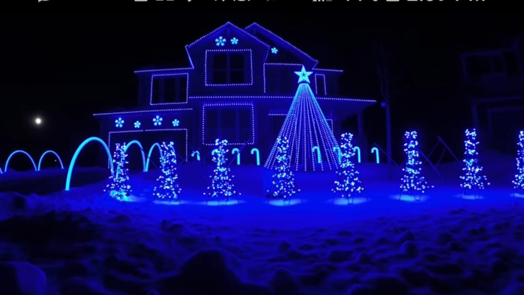 If You Can't Make It To Drive Thru Christmas Lights…Just Watch The Video!
